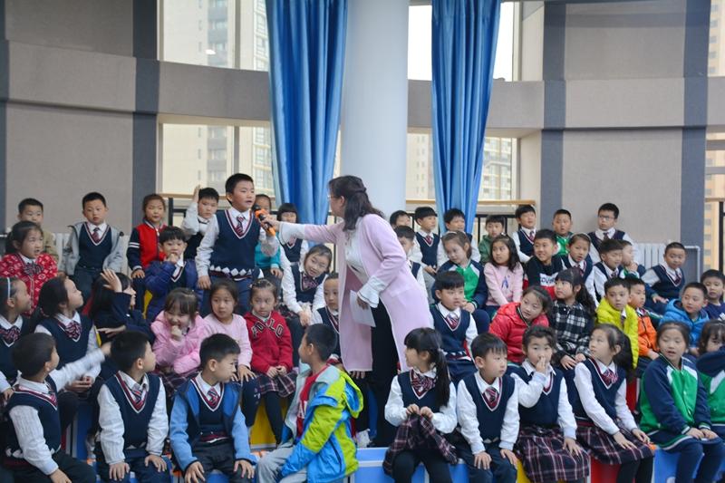 """童言童语话读书   读书之乐乐无穷—— 历山双语学校第一届""""悦读•成长""""校园读书节"""